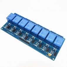 Модуль реле 8 каналов с опторазвязкой