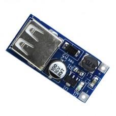 Преобразователь постоянного напряжения с USB выходом из 0-9В-5В в 5В