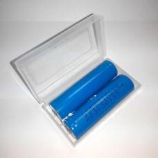 Пластиковый контейнер для 18650 2х