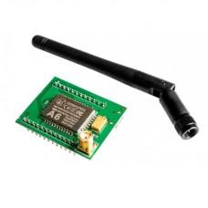 Модуль GSM GPRS A6 SMS Speech на плате с антенной