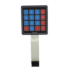 Мембранная цифро-буквенная клавиатура 4x4 (гибкая)