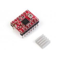 Драйвер шагового двигателя A4988. Подключения к Arduino и пример использования