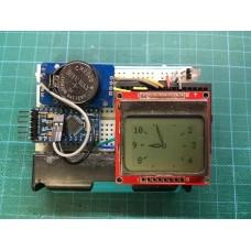 Аналоговые часы с использованием Arduino Pro Mini, DS3231, Nokia 5110 и математики