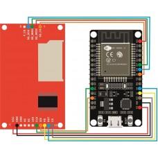 Подключение дисплея на чипе ILI9225 к ESP32
