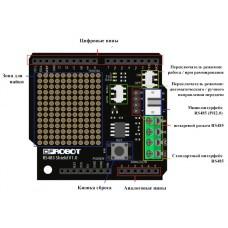 Модуль RS-485 для Arduino UNO (Описание, схемы, примеры)