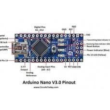 Поворотный радар на основе HC-SR04 и Arduino