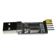 Конвертер USB-TTL на микросхеме CH340. Схема, характеристики. Установка драйвера.