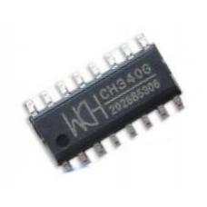 Микросхема CH340G – преобразователь интерфейса USB в UART (мост USB-UART). Характеристики, условия эксплуатации, типовые схемы включения