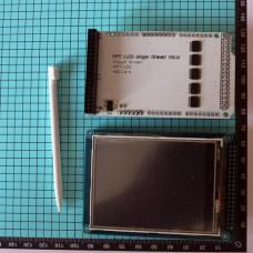 "3,2"" TFT-LCD сенсорный экран на ILI9341 + Shield Mega"