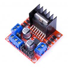 Проверка драйвера двигателя L298n без использования Arduino