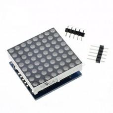 Монохромная LED матрица 8×8 MAX7219