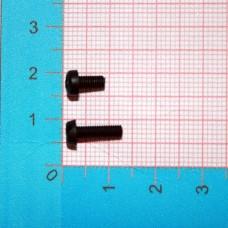 Болт М3x10 с полукруглой головкой