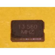 Кварцевый резонатор 13.560 мГц.